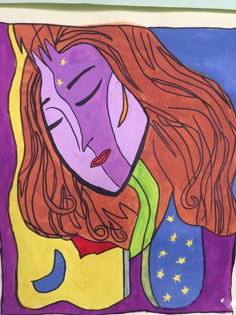 第七届艺术节部分优秀绘画作品及获奖名单